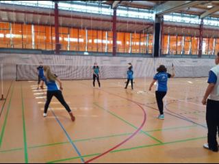 Badminton Camp mit Nationaltrainer Hans-Werner Niesner