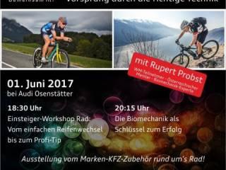 Technik-Workshop Radfahren